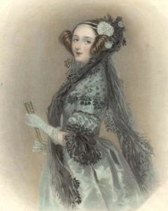 Ada Lovelace. Source: Suw Charman-Anderson on Flickr