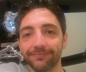 A portrait picture of scientist Gianluca Sigismondo